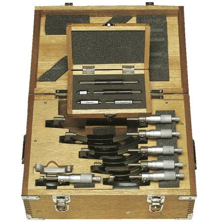 Mikrometru komplekts 0-150mm (0,01mm)