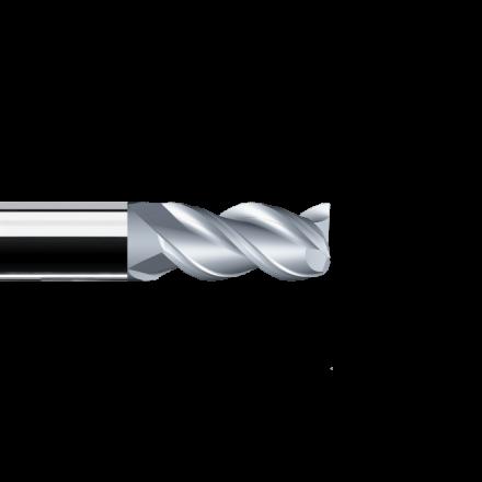 Frēze ar fāzi uz stūra AS3 4,0x57, VHM