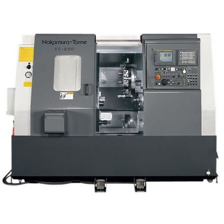 Nakamura-Tome SC-250 virpošanas iekārta